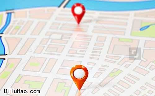 广州高德地图标注